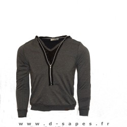 Sweat cole zip