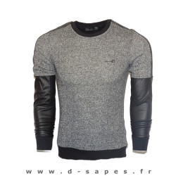 Sweat chiné homme mec ados