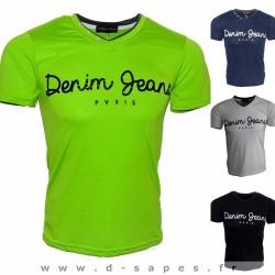 tee shirt homme pas cher collection été 2016 mode pour ados tendance élasthanne 10€ bleu vert noire blanc piscine plage camping