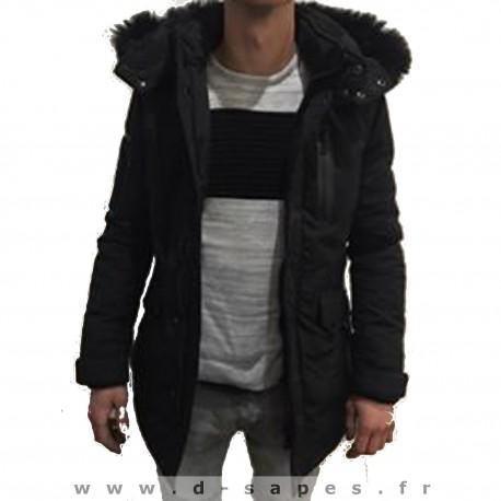 PARLA pour homme de la marque black soul nouvelle collection  hiver 2016 pas cher fourré REDSKINS
